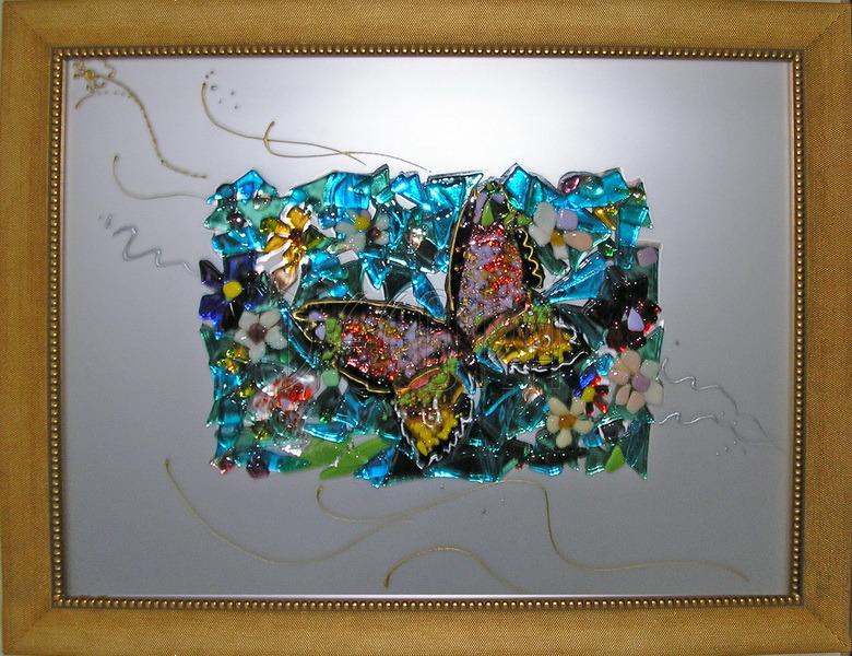 Картины под стекло своими руками