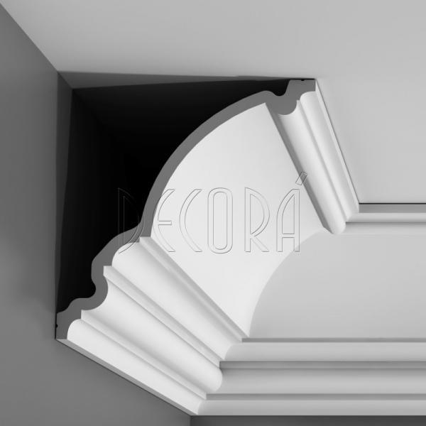 Плинтус потолочный полиуретановый фото