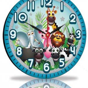 Настенные часы Декор Карпаты Голубой (25-93)