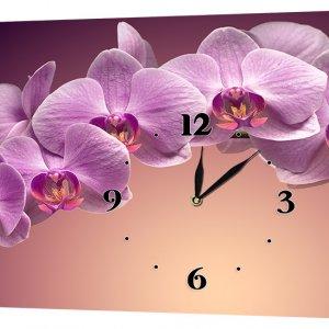 Настенные часы Декор Карпати 24х44 Орхидеи (24х44-c165)