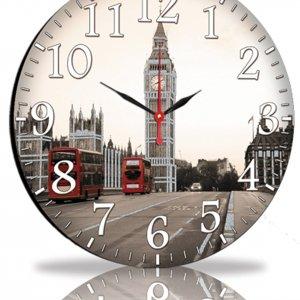 Настенные часы Декор Карпаты Серый (45-101)
