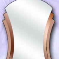 Зеркало фигурное, бронза