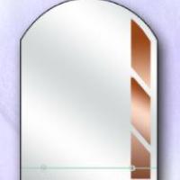 Зеркало с полкой, бронза