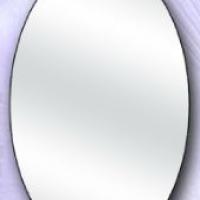 Зеркало овальное большое