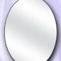 Зеркало овальное среднее
