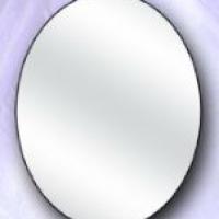 Зеркало овальное малое