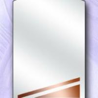 Зеркало с бронзовой вставкой