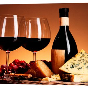 Картина на холсте Декор Карпаты Вино 50х100 см (1306)