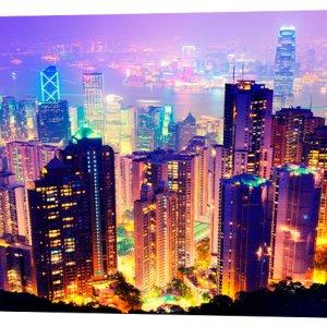 Картина на холсте Декор Карпаты Города 50х100 см (g749)