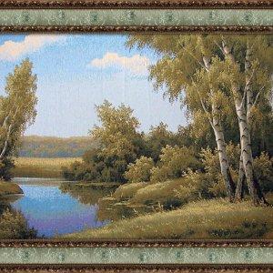 Гобеленовая картина Декор Карпаты Березовый край 80х160 (gb_18)