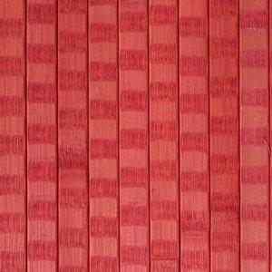 Бамбукові шпалери червоні 17 мм