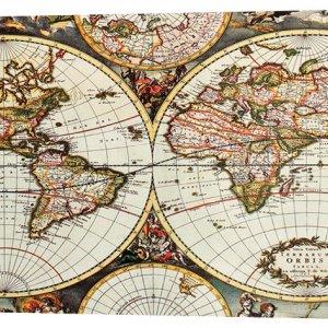 Картина на холсте Декор Карпаты Карты 50х100 см (map428)