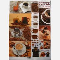 Декупажная карта Кофе