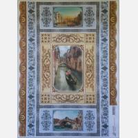 Декупажная карта Венецианские орнаменты