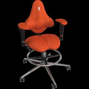 Детское ортопедическое кресло Kids 1504 Морковное