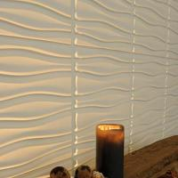 Гипсовая 3D панель стеновая Ручьи