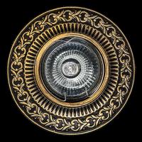 Светильник потолочный гипсовый AZ 22 Бронза