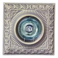 Светильник потолочный гипсовый AZ 25 Серебро