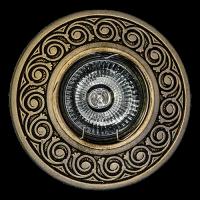 Светильник потолочный гипсовый AZ 28 Бронза