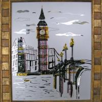 Картина из стекла «Биг-Бен»