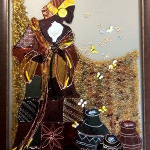 Картина из стекла «Египет»
