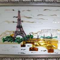 Картина из стекла «Франция»