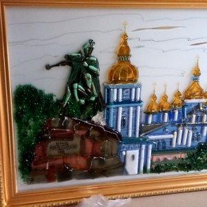 Картина из стекла «Киев»