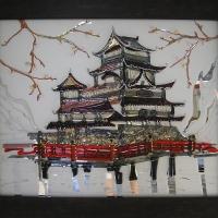 Картина из стекла «Китай»