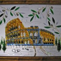 Картина из стекла «Колизей»