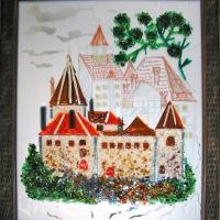 Картина из стекла «Прага»