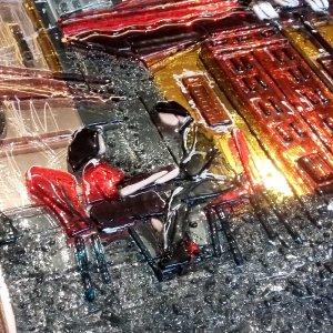 Картина из стекла «Романтик»