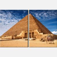 """Модульная картина """"Египетские пирамиды"""""""