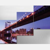 "Модульная картина ""Мост Сан-Франциско"""