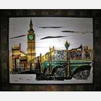 Картина из стекла «Лондон»