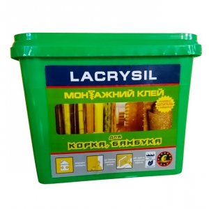 Клей для бамбука, пробки, натуральных покрытий Lacrysil