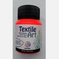 Краска для ткани Textile Art Красная флуоресцентная