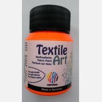 Краска для ткани Textile Art Оранжевая флуоресцентная