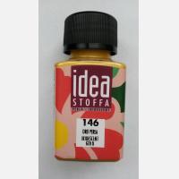 Краска для тканей Idea Stoffa Золотая