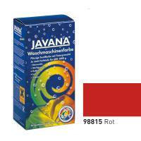 Краска-краситель для ткани для обработки в стиральной машине Javana Красный (код 98815)
