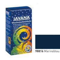 Краска-краситель для ткани для обработки в стиральной машине Javana Синий морской (код 98816)