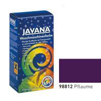 Краска-краситель для ткани для обработки в стиральной машине Javana Сливовый (код 98812)