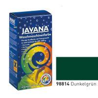Краска-краситель для ткани для обработки в стиральной машине Javana Темно зеленый (код 98814)