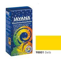 Краска-краситель для ткани для обработки в стиральной машине Javana Желтый (код 98801)