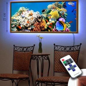 """LED – картина """"Аквариумные рыбки"""""""