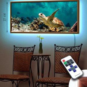 """LED – картина """"Черепаха"""""""