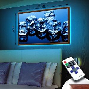 "LED – картина ""Кубики льда"""