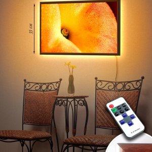 """LED – картина """"Персик"""""""