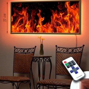 """LED – картина """"Пламя"""""""