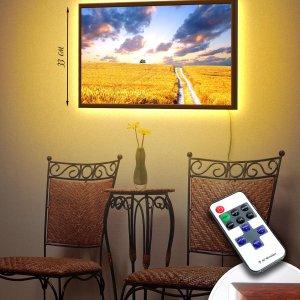 """LED – картина """"Поле"""""""