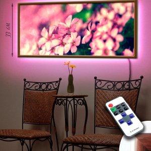 """LED – картина """"Розовое цветение"""""""